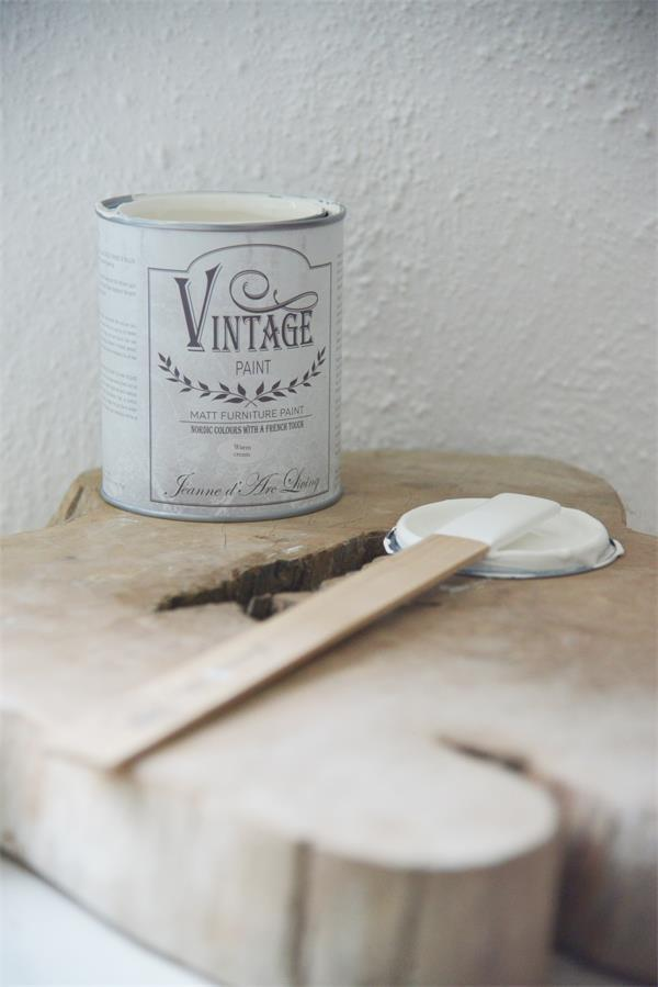 "Kreidefarbe Vintage Paint ""Warm cream"" 700ml"